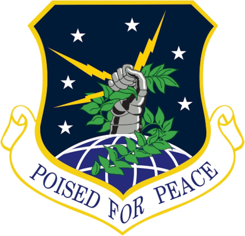 91st Missile Wing (Color). Image provided by 5 BW/HO. In accordance with Chapter 3 of AFI 84-105, commercial reproduction of this emblem is NOT permitted without the permission of the proponent organizational/unit commander. Image is 7 x 7 inches @ 300 dpi