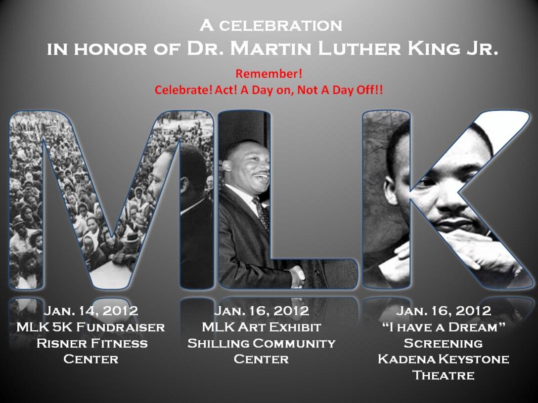 2012 Dr. Martin Luther King, Jr. Day Celebration events