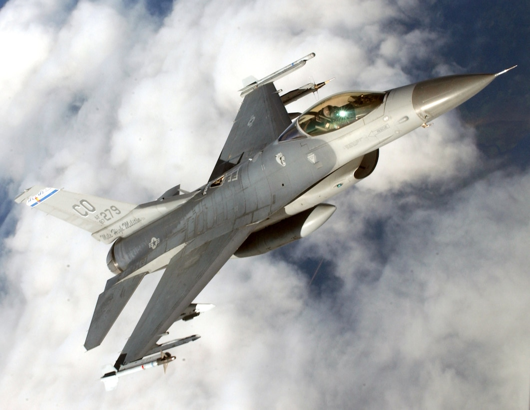 F-16 Fighting Falcon from the 140th Wing, Colorado Air National Guard (Colorado Air National Guard photo by Senior Master Sgt. John P. Rohrer)