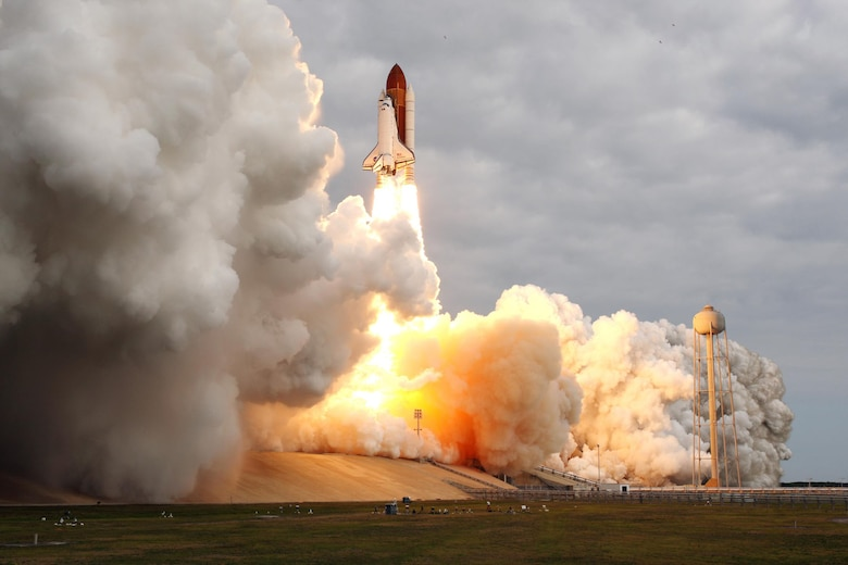Endeavour lifts off on its 25th and final mission on May 16, 2011. (NASA image)