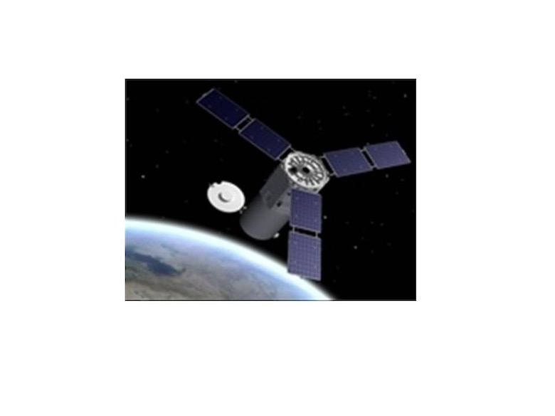 KIRTLAND AFB, N.M. -- The Operationally Responsive Space-1 satellite was transferred to operational use Jan. 3. The spacecraft provides enhanced imagery and data to the warfighter. (Graphic courtesy of the Operationally Responsive Space office)