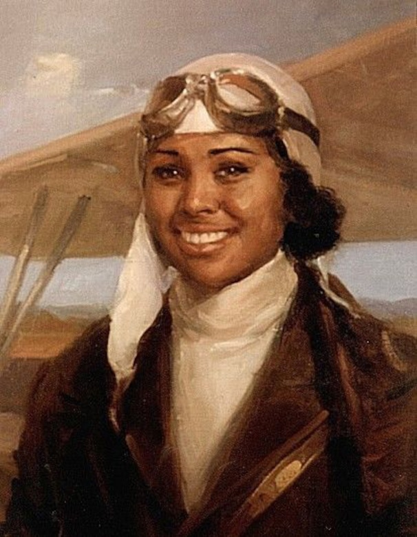 Bessie Coleman: After traveling to France to attend flight school, Coleman returned to U.S. to dazzle crowds with aerial prowess.
