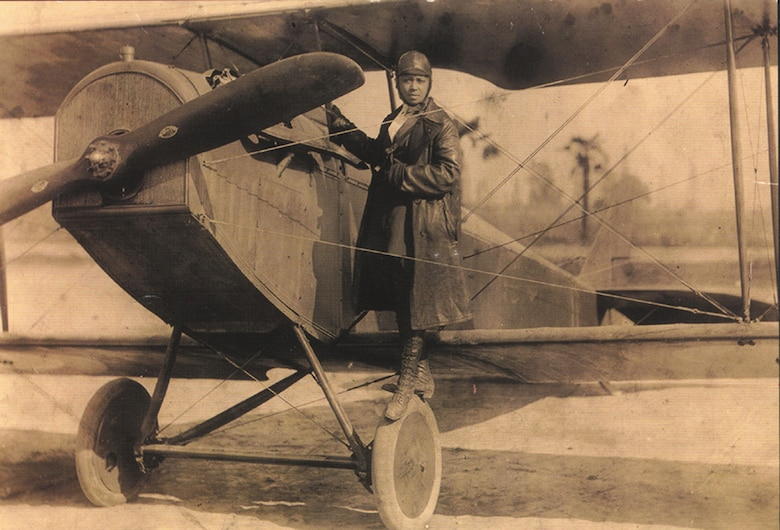 Bessie Coleman: First African-American female pilot performed aerial shows throughout the U.S.