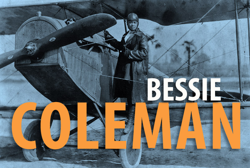 reputable site 051ca fd377 Bessie Coleman  Woman who  dared to dream  made aviation history