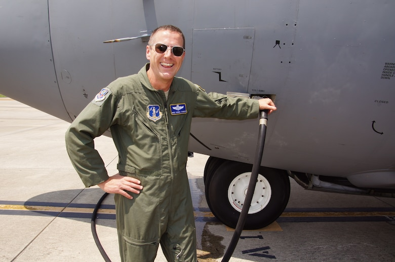 C-130 engineer Senior Master Sgt. Robert S. Cannon, one of 4 crew members who were killed July 1, 2012 after their C-130 crashed while fighting wildfires in South Dakota. (courtesy photo)