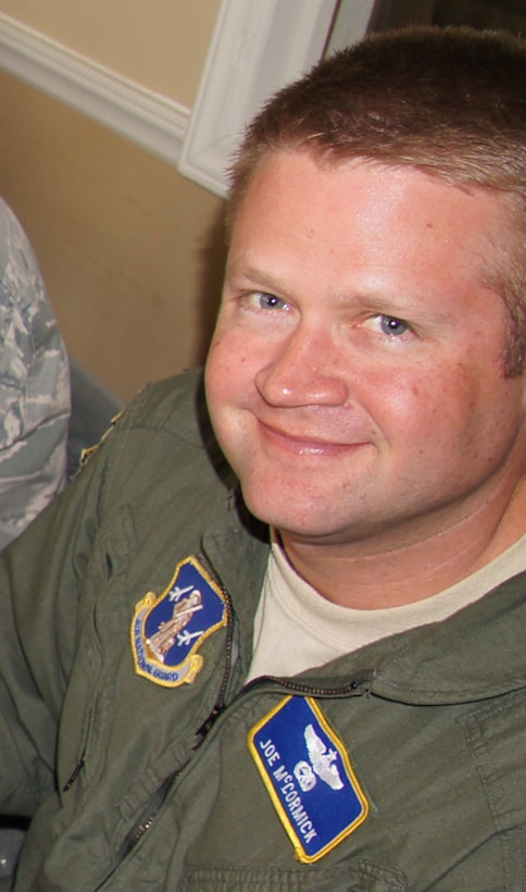C-130 pilot Major Joseph M. McCormick, one of 4 crew members who were killed July 1, 2012 after their C-130 crashed while fighting wildfires in South Dakota.  (courtesy photo)