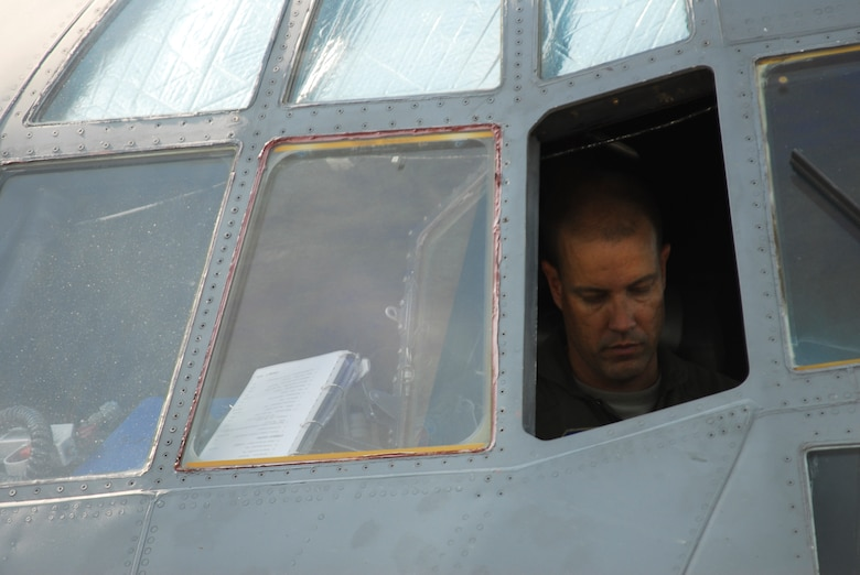C-130 pilot Lt. Col. Paul K. Mikeal, one of 4 crew members who were killed July 1, 2012 after their C-130 crashed while fighting wildfires in South Dakota.  (courtesy photo)