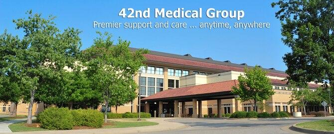 42nd Medical Group at Maxwell Air Force Base, Ala.