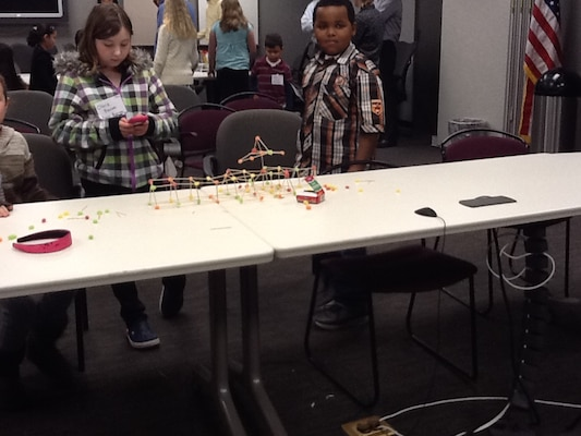 New York District recently hosted a take your children to work day.