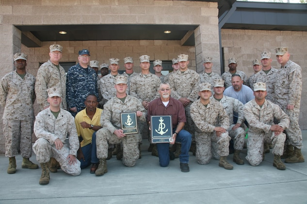 Kevin Bickel, Air Station bulk fuel civilian crew leader, received the Marine Corps Civilian of the Year and the::r::::n::American Patroleum Institute Award, July 10.