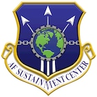 The shield for the Air Force Sustainment Center, which was activated at Tinker Air Force Base, Okla., July 10, 2012.