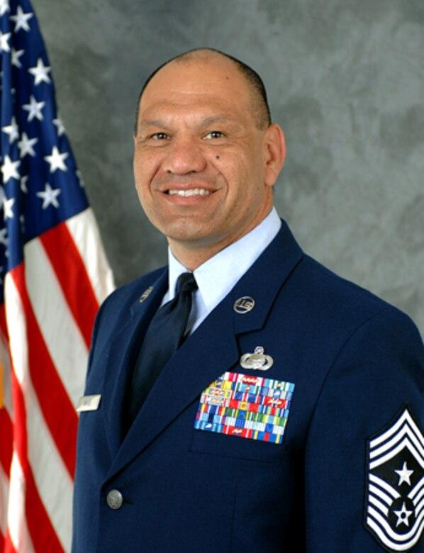 Chief Master Sergeant Robert A.K. White, 9th RW command Chief Master Sergeant
