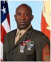 SGTMAJ Ronald L. Green, I Marine Expeditionary Force Sergeant Major