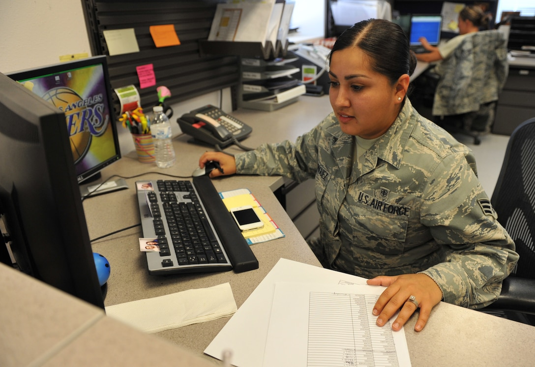 U.S. Air Force Senior Airman Selena Rodriguez serves as a 366th Medical Support Squadron medical readiness technician and was selected as the squadron's Warrior of the Week.  (U.S. Air Force photo/Airman 1st Class Heather Hayward)