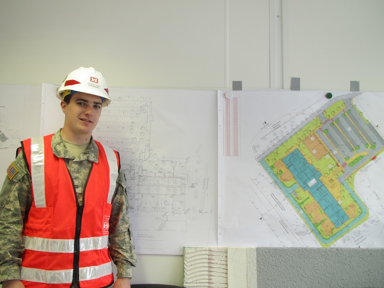 GERMANY — Alex Cansler, a rising U.S. Military Academy at West Point junior majoring in Civil Engineering, took part in the school's Academic Individual Advanced Development program working for the U.S. Army Corps of Engineers Europe District this summer.