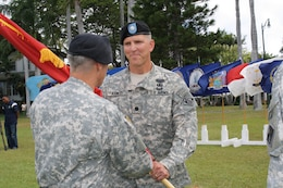 FORT SHAFTER, HI — Lt. Col. Thomas D. Asbery became the 68th commander of the U.S. Army Corps of Engineers Honolulu District in a military ceremony here, July 18, 2012.