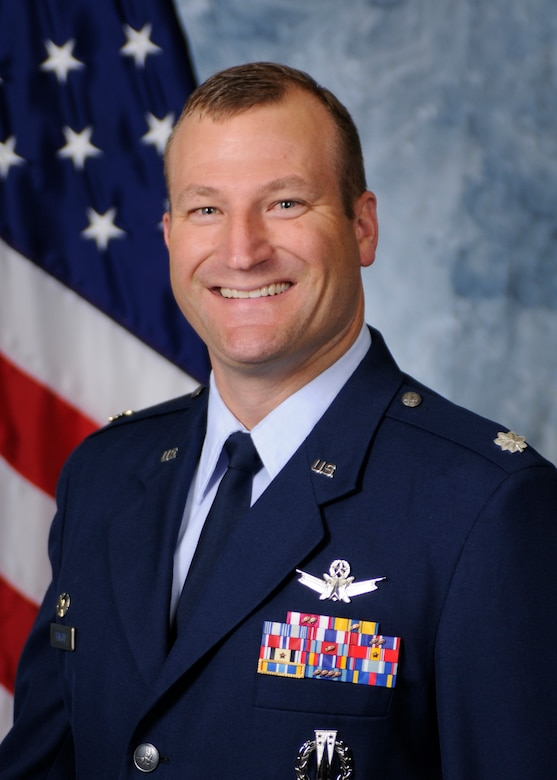 Lt. Col. Scott Trinrud, 4th Space Operations Squadron commander