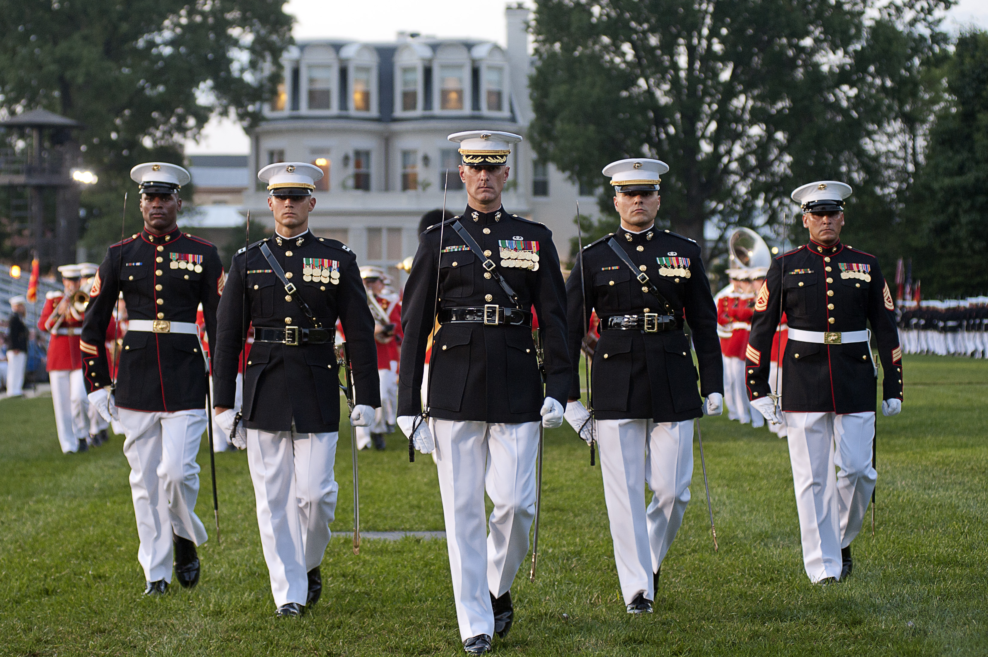 MarForCom commander retires at 8th and I > Marine Barracks ...