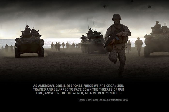 """The partnership between Marine Corps Recruiting Command and their contracted advertising firm, JWT, marked its 65th year this month. The relationship between the two organizations is based upon a cultural understanding of one another and a proven track record of success, this year's """"Toward the Sounds of Chaos"""" campaign being the most recent"""