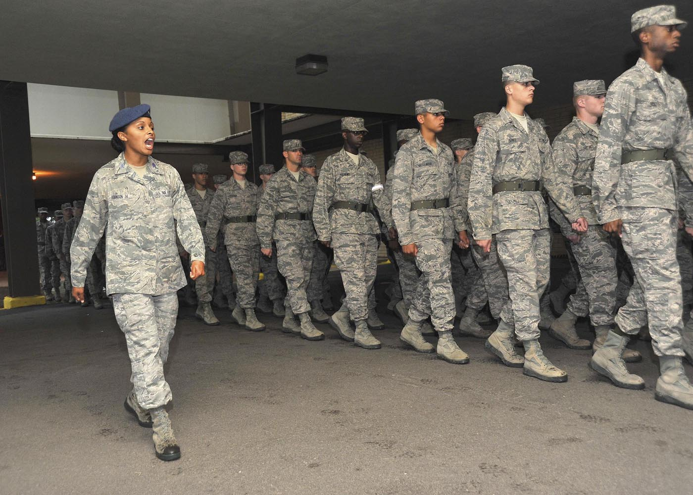 Leading by example: Academy cadets develop leadership skills