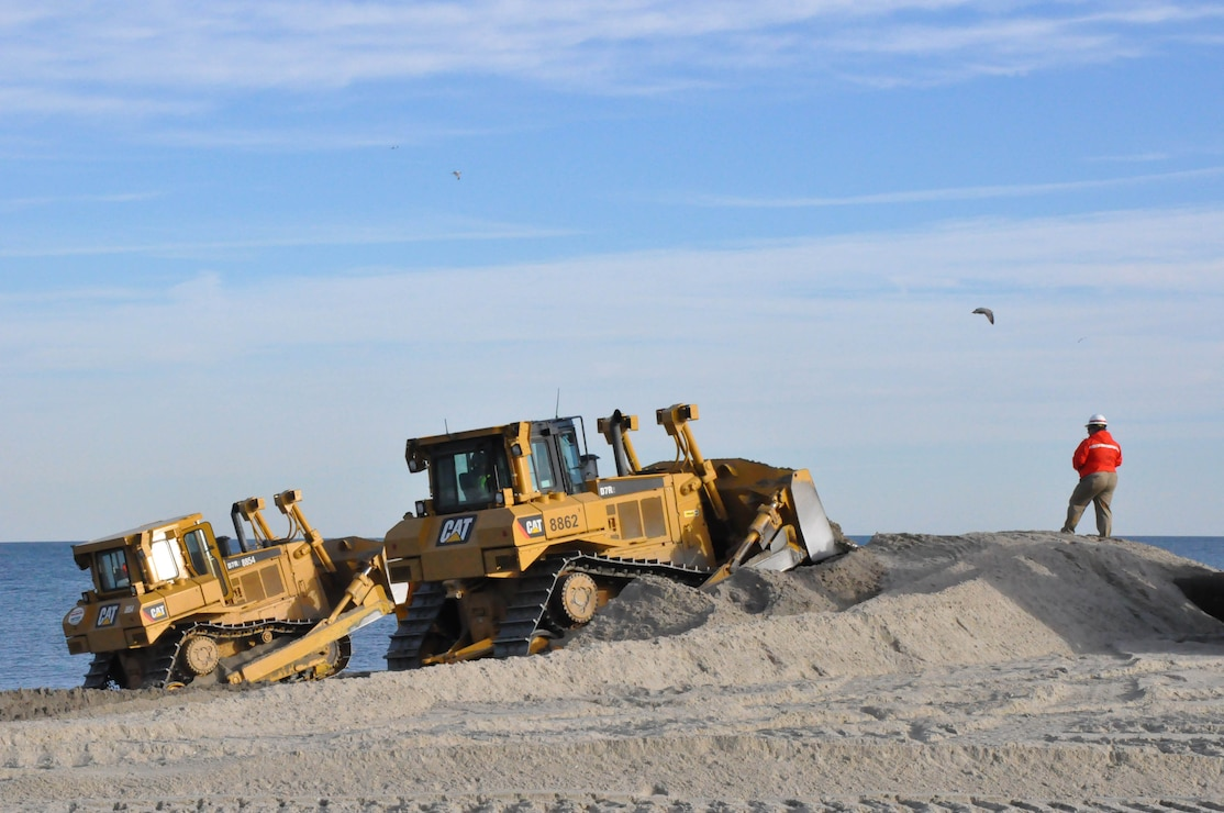 Monmouth Beach Renourishment (NJ)