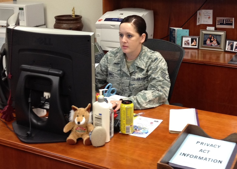 Desert Lightning Team's Weekly Warrior Staff Sgt Renicia Lopez