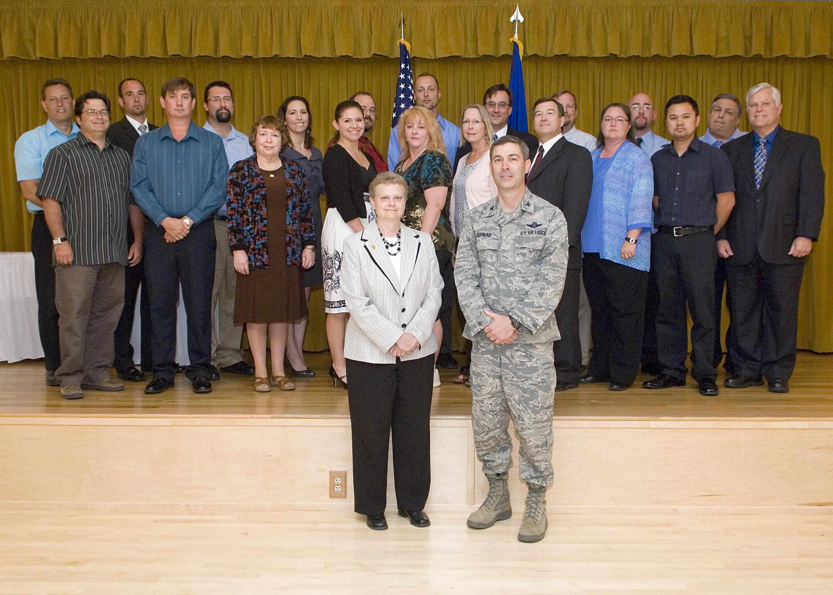 Team edwards members earn dod security certification air force team edwards members earn dod security certification xflitez Images
