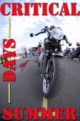 """""""Safety- It's Personal"""" is the theme for this year's Critical Days of Summer safety campaign, which runs from 25 May through 3 Sep 2012. This year's theme is a reminder that safety is everyone's responsibility and the decisions we make impact our friends, families and Air Force community.  (U.S. AIr Force graphic by Staff Sgt. Torey Griffith)"""