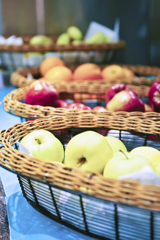 Apples are rich in fiber, flavanoids, and B-complex vitamins.