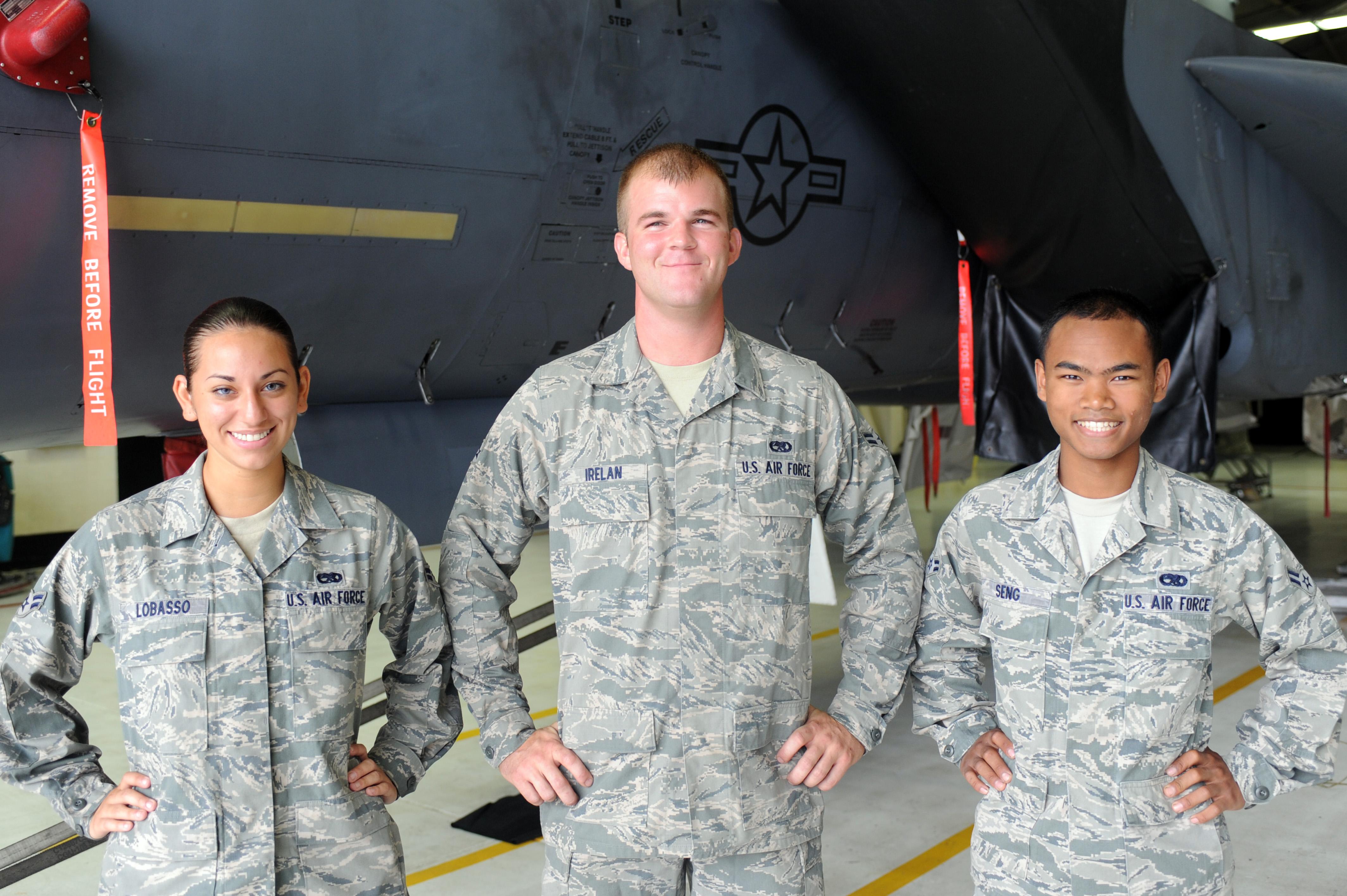 airmen save drowning man u s air force article display