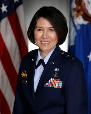 Maj. Gen. Sharon K.G. Dunbar has been selected for assignment as commander, Air Force District of Washington, Joint Base Andrews, Md.  Dunbar is currently serving as the Director of Force Management Policy, Deputy Chief of Staff for Manpower, Personnel and Services, Headquarters U.S. Air Force, Washington, D.C. (Courtesy Photo)