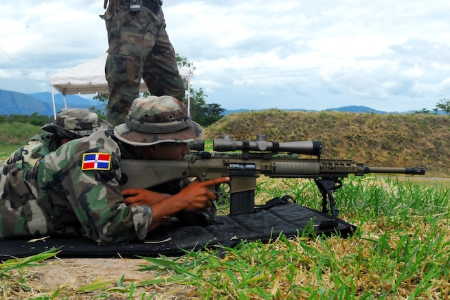 u s department of > photos > photo essays > essay view snipers from the n republic s special operations forces take aim at their targets during the sniper