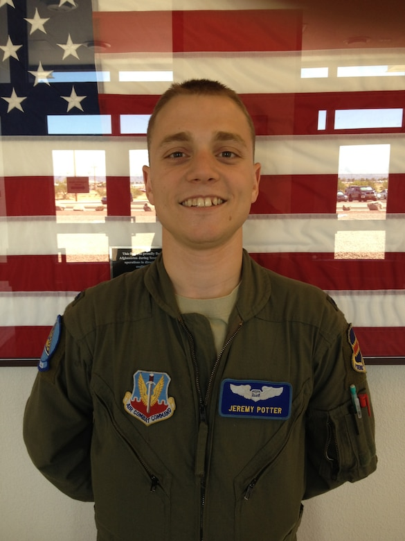 Desert Lightning Team's Weekly Warrior 1st Lt Jeremy Potter