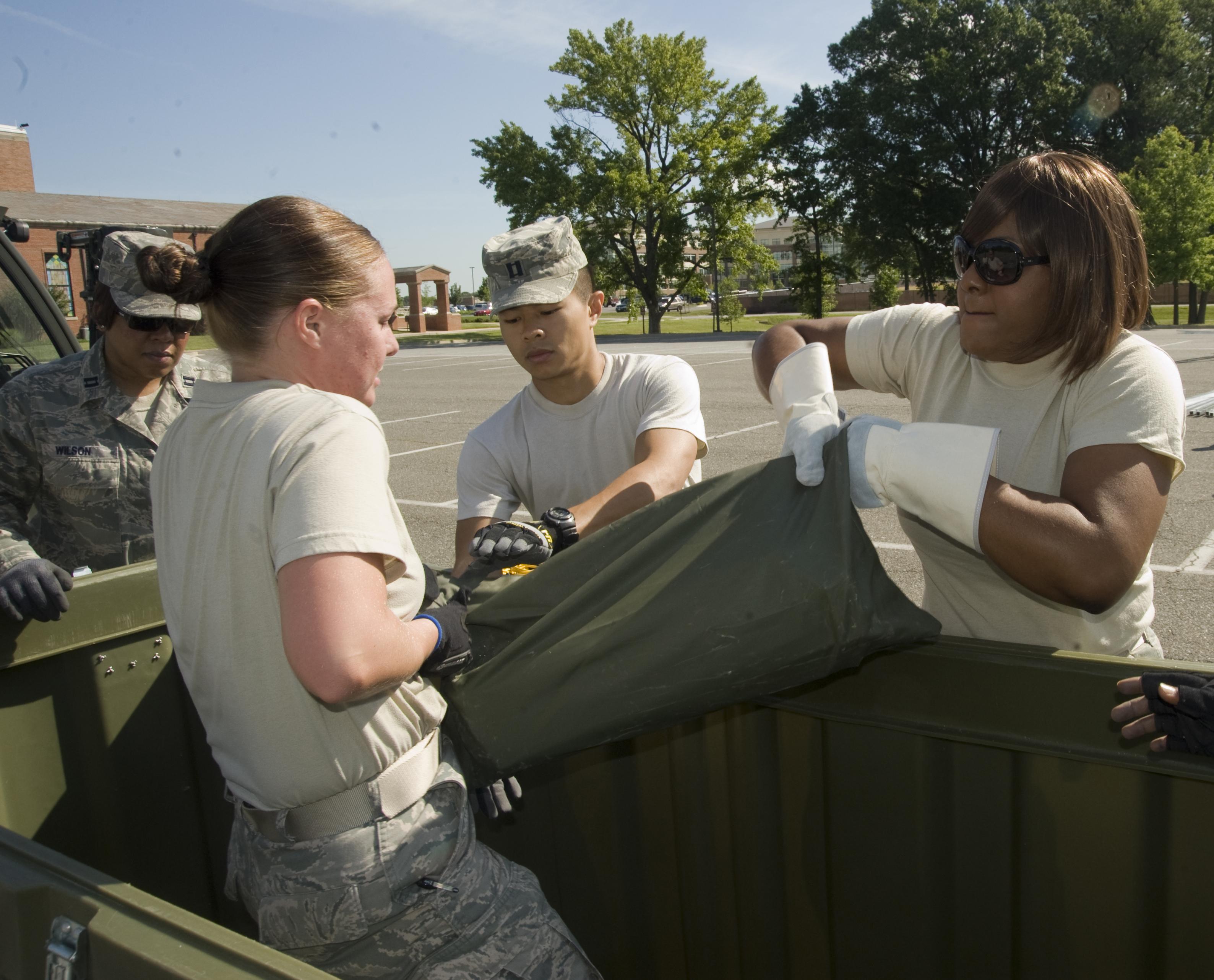 Med Group Exercises Disaster Response Skills