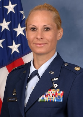 Maj. Tara Opielowski 736th Security Forces Squadron commander (U.S. Air Force courtesy photo/Released)