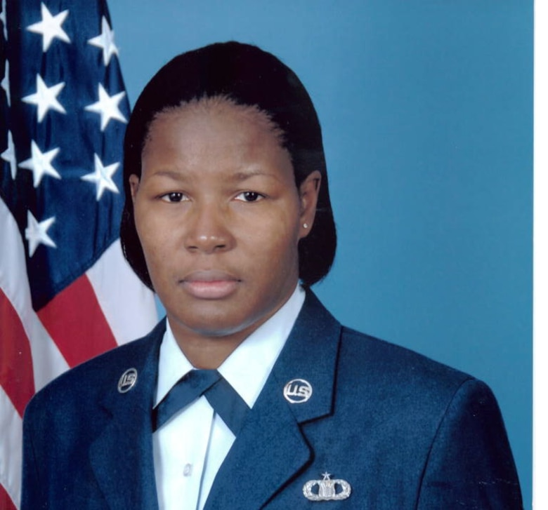 Official photo for Master Sgt. Monique Harris. (Courtesy photo)