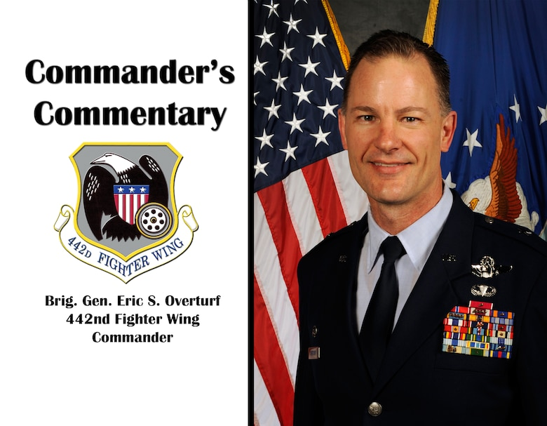 442nd Fighter Wing Commander's Commentary