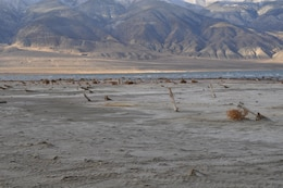 WALKER LAKE, Nev. — Exposed munitions test fired from the 1940s to the 1970s were exposed from receding water levels of Lake Walker, Nev. The munitions were destroyed in place and and more than 65 tons of munitions debris were removed.
