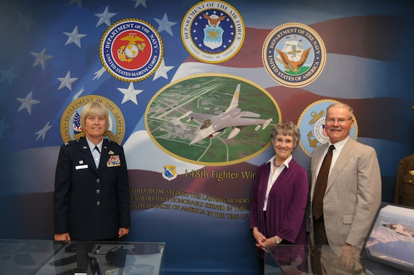 148th Fighter Wing Mission Support Group Commander Col. Penny Dieryck poses