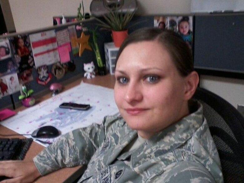 Desert Lightning Team's Weekly Warrior Senior Airman Meghan Pearson