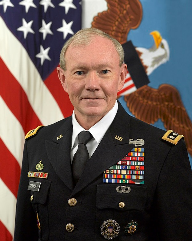 Gen. Martin Dempsey, chairman of the Joint Chiefs of Staff, talks about the military profession of arms in a blog on DoD Live. (Department of Defense photo)
