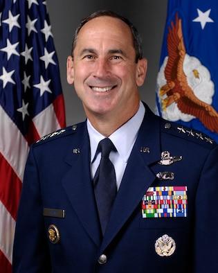 Gen. Raymond E. Johns Jr., Commander, Air Mobility Command, Scott Air Force Base, Ill.