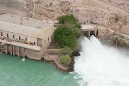AFGHANISTAN — Kajaki Dam powerhouse, in Helmand province, Afghanistan, is on tap for repairs by the U.S. Army Corps of Engineers Afghanistan Engineer District-South.