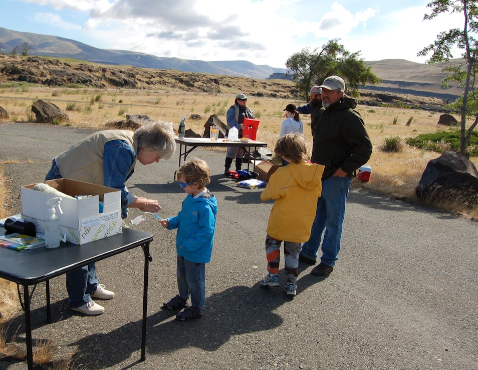 Free Family Fishing Day at The Dalles