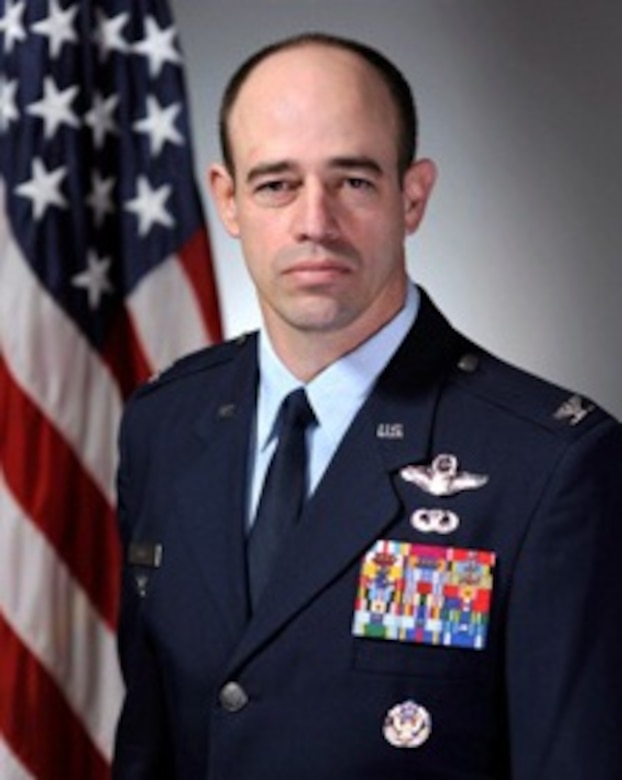 Col. Michael E. Gantt has been assigned as vice commander, Air Force District of Washington, Joint Base Andrews, Md. In Gantt's last assignment, he served as the Chief of A5XS 'Skunks' Division, responsible to the Chief of Staff, US Air Force to develop operational concepts and strategy commensurate with future force requirements and capabilities.