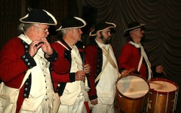 PHILADELPHIA, Pa. — Philadelphia Fife & Drum provided music during the U.S. Army Corps of Engineeers' Philadelphia District Change of Command ceremony, June 26, 2012.