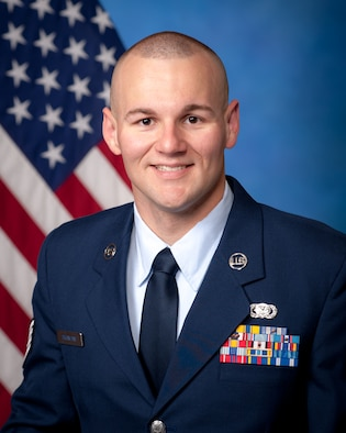 U.S. Air Force Staff Sergeant Cory Branham, 364th Training Squadron military training leader currently stationed at Ft. Leonard Wood, Mo., recently was named one of the Air Force's 12 Outstanding Airmen of the Year for 2012. Some of Branham's many awards and accomplishments included earning his Community College of the Air Force degree in May 2011 where he received the Pitsenbarger scholarship, and receiving the John L. Levitow award while attending Airman Leadership School. (Courtesy Photo)