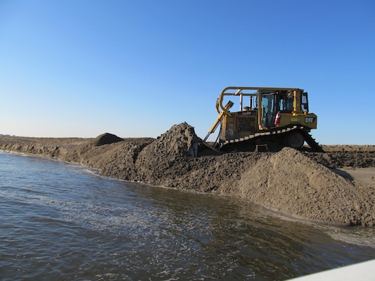 New York District recently finished construction of a second Marsh Island as part of the Comprehensive Restoration Plan