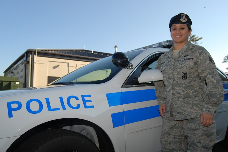 """Staff Sgt. Barbara Denisi serves as a 94th Security Forces Squadron security forces apprentice. Her primary focus is the defense of Dobbins Air Reserve Base, securing and protecting all personnel and property. """"I've recently completed Combat Arms Training,"""" said Denisi. """"The knowledge I retained not only betters me as an Airman, but gives me an opportunity to assist others."""""""