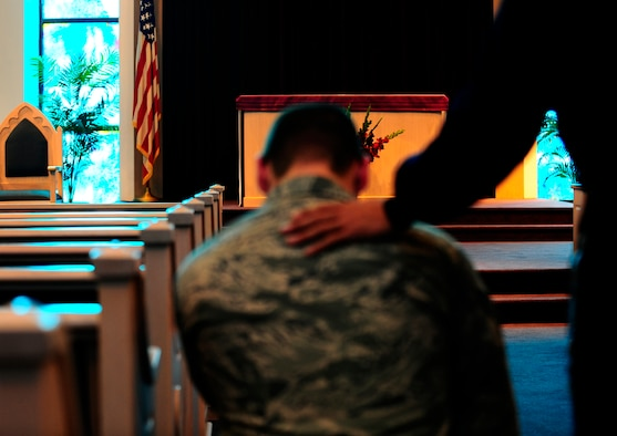 The Air Force Chaplain Corps provides spiritual care for Airmen, their families, and other authorized personnel. The Chapel also provides a variety of other services to the MacDill community such as counseling, worship services, advising military leadership, building shop moral and much more. (U.S. Air Force photo by Airman 1st Class Melanie Bulow-Kelly)